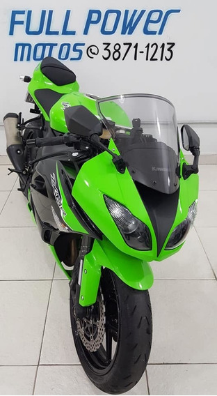 Kawasaki Ninja Zx-6r Verde 2012/2012