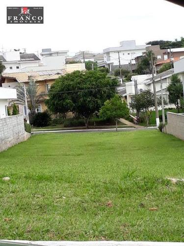 Terreno Para Venda No Condomínio Terras De Vinhedo Em Vinhedo -sp - Te0548