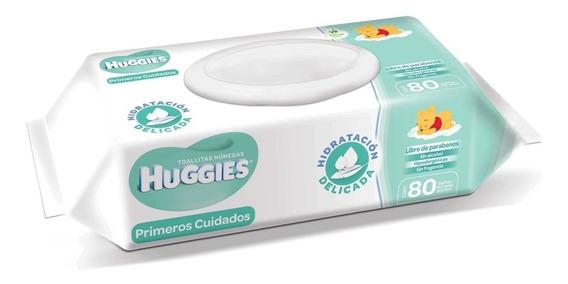 Toallitas Húmedas Huggies Linea Sensible 80 Pzas