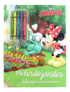Libro Para Colorear De 32 Pags Y Crayones Varios Personajes