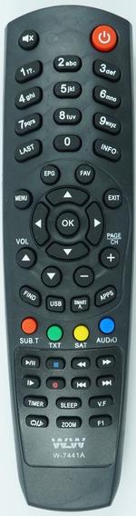 10 Controle Remoto Receptor Hd Digital 4k Full Hd 5.1dsp