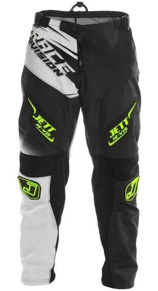 Calça Motocross Trilha Pro Tork Jett Factory Edition Neon