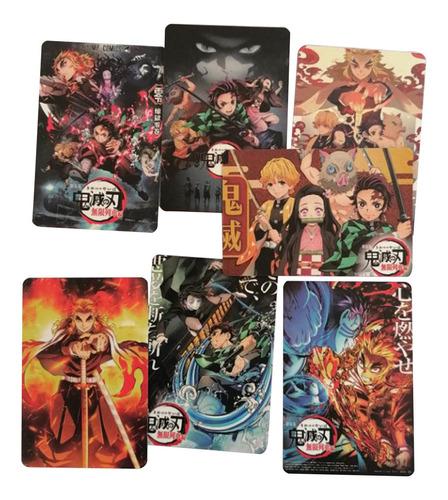 Imagen 1 de 4 de Anime Demon Slayer Kimetsu No Yaiba Postal Regalo 3set