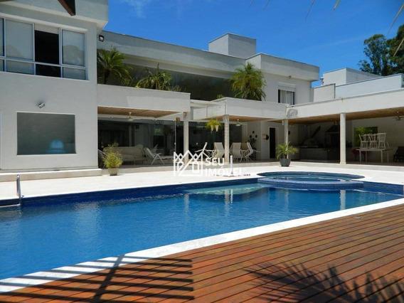 Casa Para Alugar, 500 M² Por R$ 20.000,00/mês - Fazenda Vila Real De Itu - Itu/sp - Ca1686