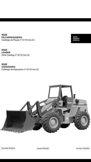 Catálogo De Peças Case Pá-carregadeira W20e Ano2002 Freio Ar