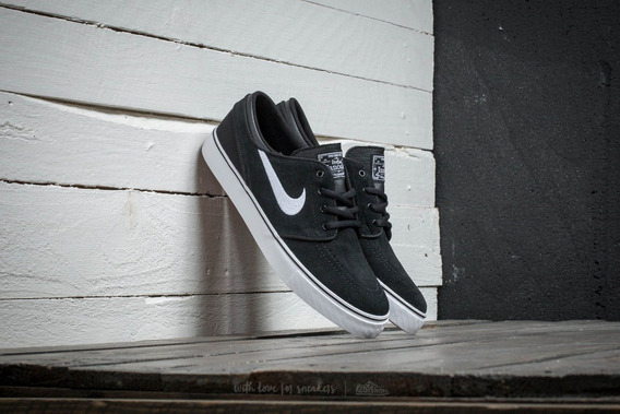 Zapatillas Nike Janoski (gs) Black White Gum Med Brown