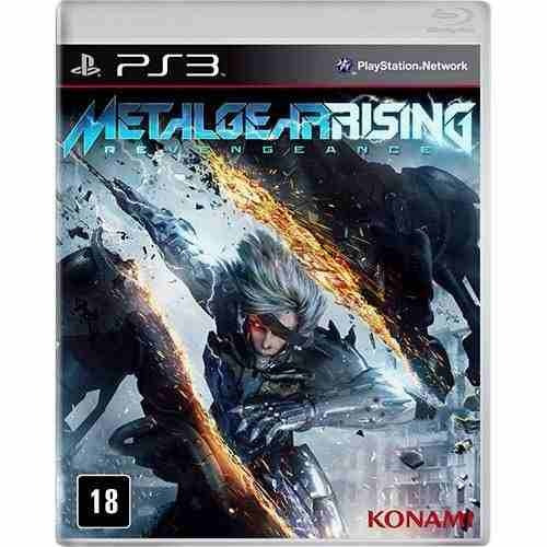 Game Metal Gear Rising - Revengeance (ps3) Original