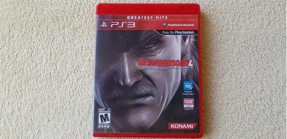Jogo Metal Gear Solid 4 Ps3 Original