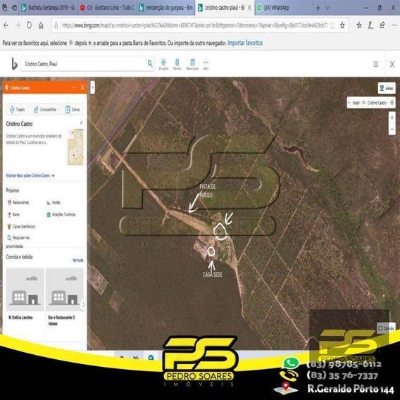 Fazenda À Venda, 65000 M² Por R$ 14.000.000 - Zona Rural - Bom Jesus/pi - Fa0007