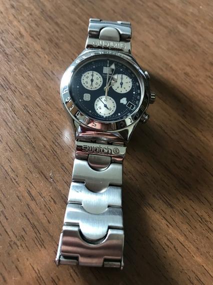 Relogio Swatch Irony Blue Cronograph
