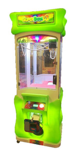 Arcade Grúa Superbox 3 Crane Game Machina Con Billetero