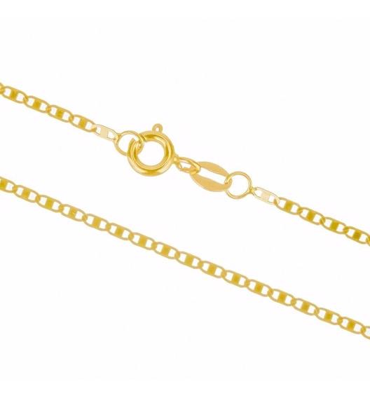 Corrente Cordão Colar De Ouro 18k Piastrine 60cm