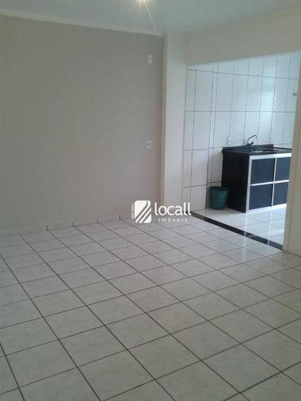 Apartamento Com 1 Dormitório À Venda, 48 M² Por R$ 139.000 - Centro - São José Do Rio Preto/sp - Ap1889