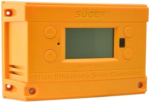 Controlador Mppt Fotovoltaico Solar 20a Carga. Display E Usb