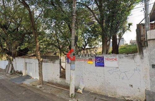 Imagem 1 de 2 de Terreno À Venda, 2400 M² Por R$ 2.600.000,00 - Vila Flórida - São Bernardo Do Campo/sp - Te0263