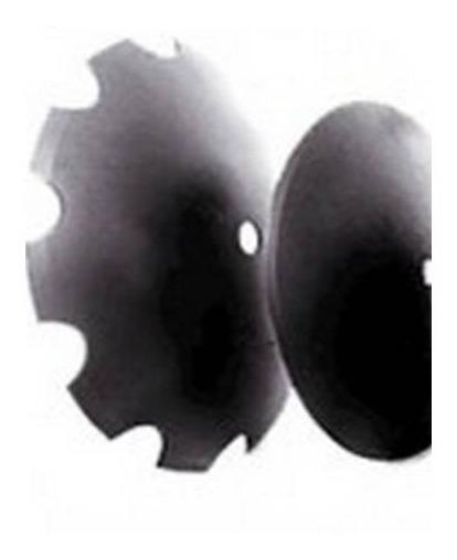 Disco 24 Pulg Dentado Para Rastra John Deere Arado - Liso