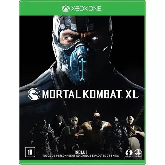 Mortal Kombat Xl Português Xbox One Mídia Física Lacrado