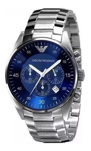 Relógio Masculino Emporio Armani Ar5860/5858 Original Top