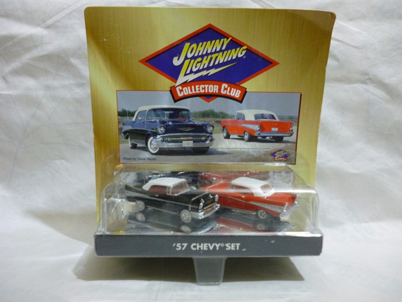 Johnny Lightning 57 Chevy Set - J P Cars