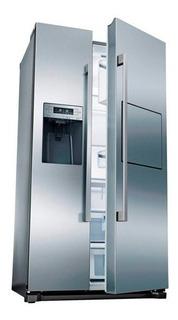 Heladera Bosch Sbs 620 L No Frost Homebar 3 Nivel Kag90ai20