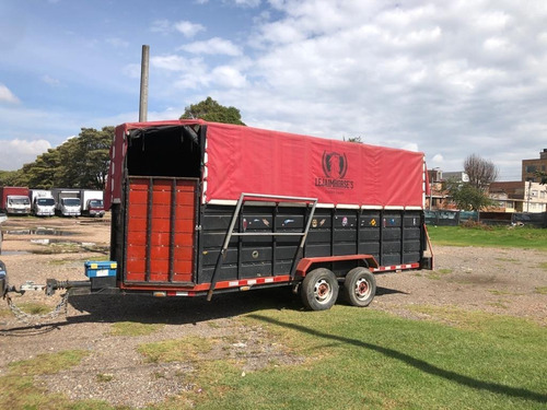 Trailer O Remolque Para Transporte De Caballos Especiales