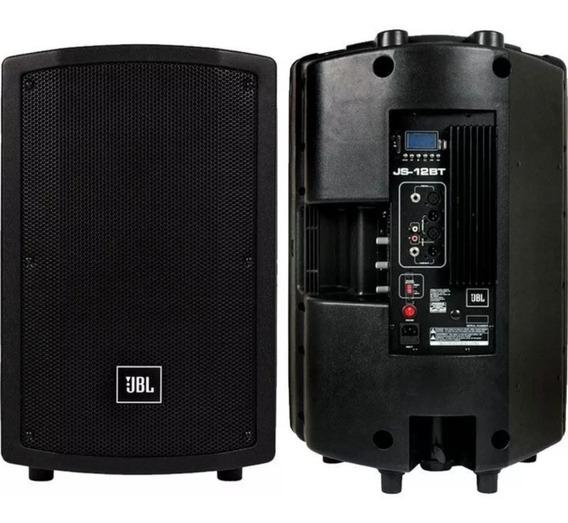Caixa Ativa Jbl Js 12 Bt 150w Rms Bluetooth Usb Sd Js12bt