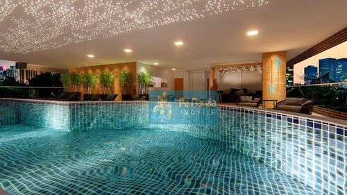 Imagem 1 de 14 de Apartamento Com 1 Dormitório À Venda, 62 M² Por R$ 29.000 - R1c64a - Caiçara - Praia Grande/sp - Ap0374