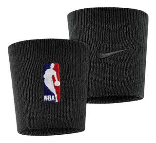 Munhequeira Nike Grande Nba Dri-fit Double Wide - Preta