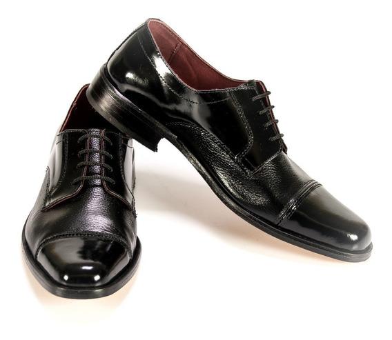 Zapato Hombre Vestir Brillante Negro Hogh Eventos Sale!