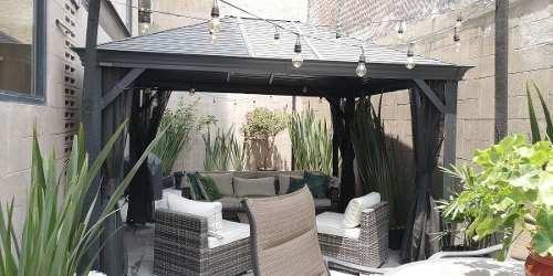 Prosperidad:. Bonito Garden House Con, 2rec , 2 Baños, Jardín