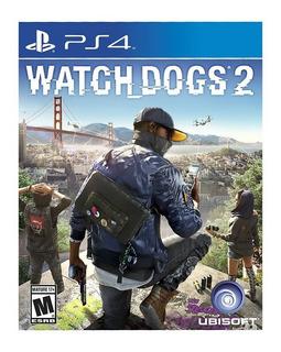 Watch Dogs 2 Ps4 Nuevo Fisico Sellado Envio Gratis