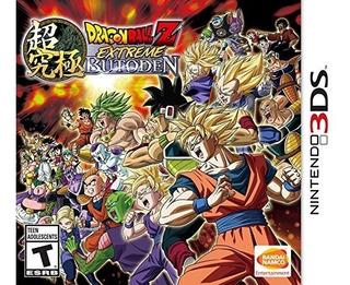 Dragon Ball Z Extreme Butoden Nintendo 3ds