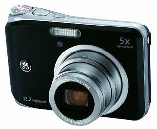 Cámara Digital Ge A1250-bk De 12 Mp Con Zoom Óptico De 5x Y
