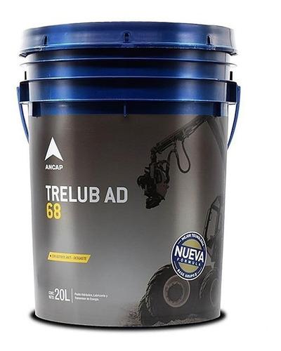 Líquido Hidráulico Trelub Ad 68 Ancap 20 Lts - Tyt
