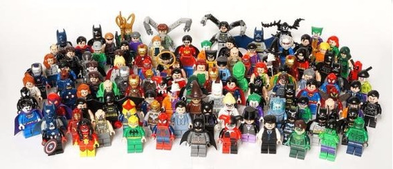 20 Bonecos Lego Super Heróis Boneco Vingadores Ultimato