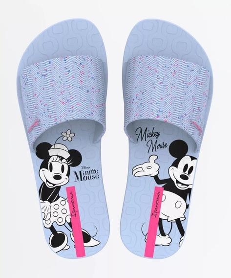 Chinelo Ipanema Slide Mickey - Sandália Original