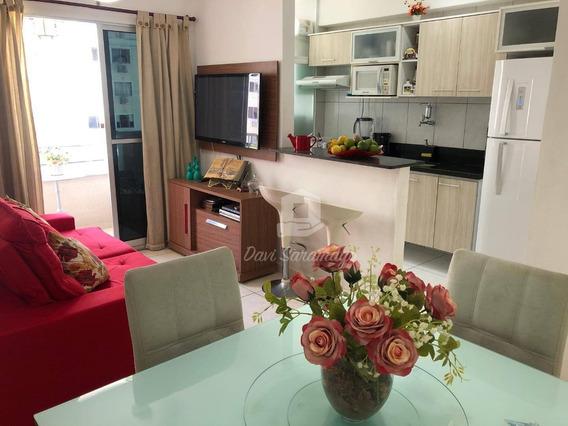Apartamento 2 Quartos No Melhor Condomínio Clube Do Barreto, R$289.000,00! - Ap0408