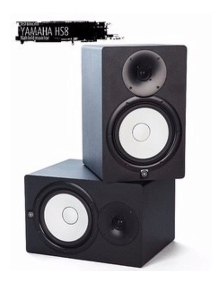 Monitor Hs8 Yamaha/valor Par / Novo Na Caixa/220v