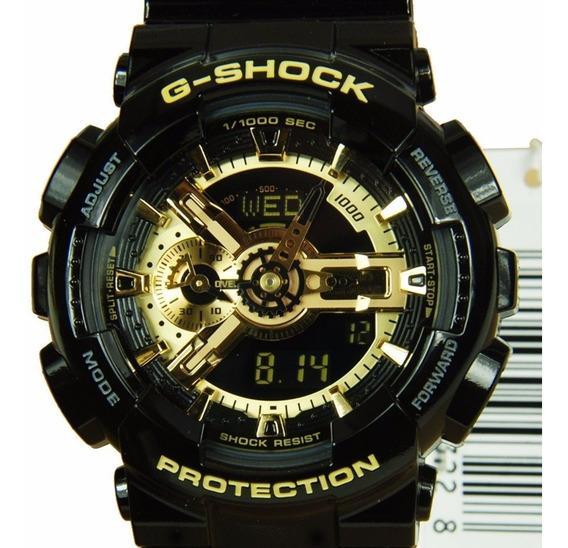 Relógio Casio G-shock Ga 110 Ga110 Gb Wr200 100% Original