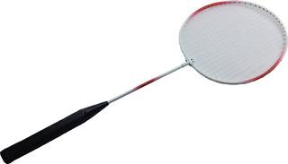 Raquete Badminton Vermelha Amador Jogos Esporte Iniciantes