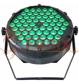 Kit 20 Par 64 Slim 60 Leds Cree Original 3w Rgb Triled 3in1