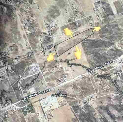 Terreno En Venta En Valle Redondo, Tijuana Oportunidad !