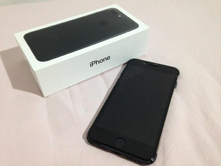 Apple iPhone 7 Plus 128gb Matte Black Anatel 100%funcionando