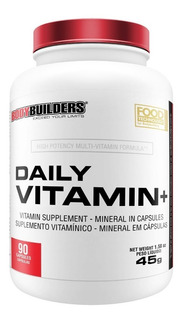 Multivitamínico Daily Vitamin Plus 90caps Bodybuilders