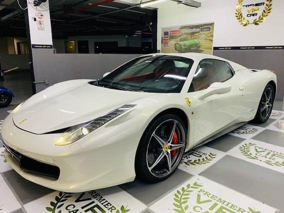 Ferrari 458 Spider 4.5 V8 32v Gasolina 2p Manual Automatizad