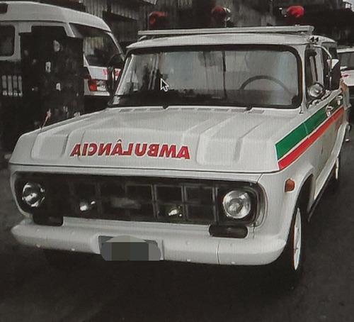 Colecionador - Ambulância De Fábrica Veraneio