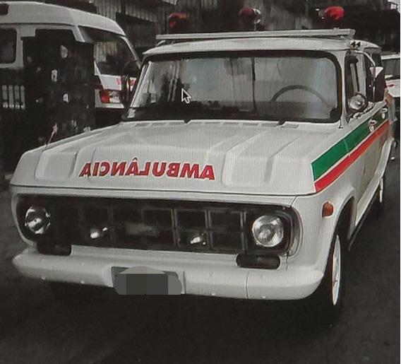 Ambulância Veraneio