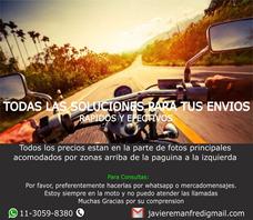 Moto Mensajería Envios A Todas Partes Zona Norte Martinez