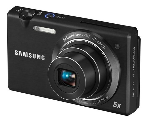 Câmera Digital Samsung Mv800 Lcd 3 16.1m Touch Top De Linha