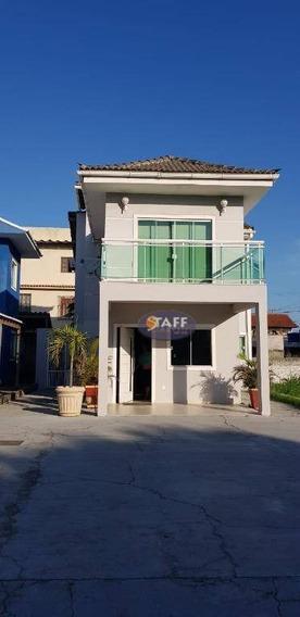 Casa Com 03 Dormitórios Para Aluguel Fixo, 90 M² Por R$ 1.900/mês - Bairro Porto Do Carro - Cabo Frio/rj - Ca1155